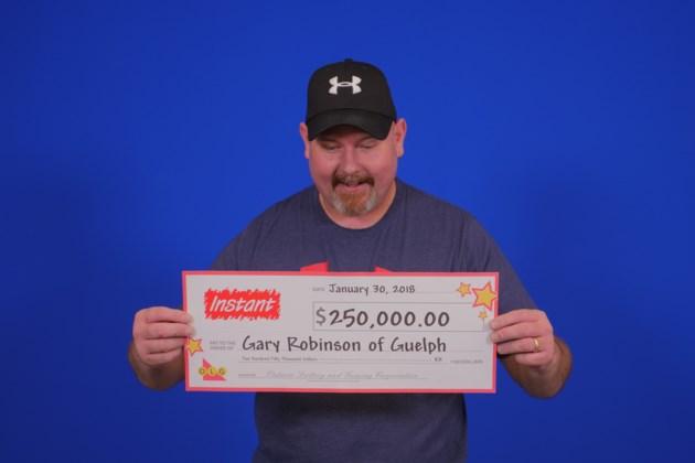 Gary Robinson of Guelph
