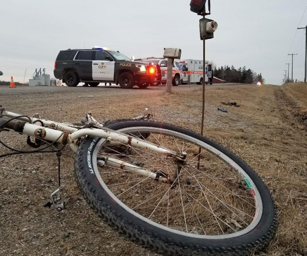 Cyclist killed in collision with vehicle north of Guelph