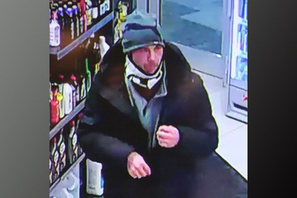 Theft suspect surveillance photo provided by Ontario Provincial Police