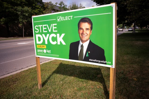 20190911 Steve Dyck Election Sign KA