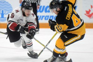 School was in for young Guelph Storm players Friday