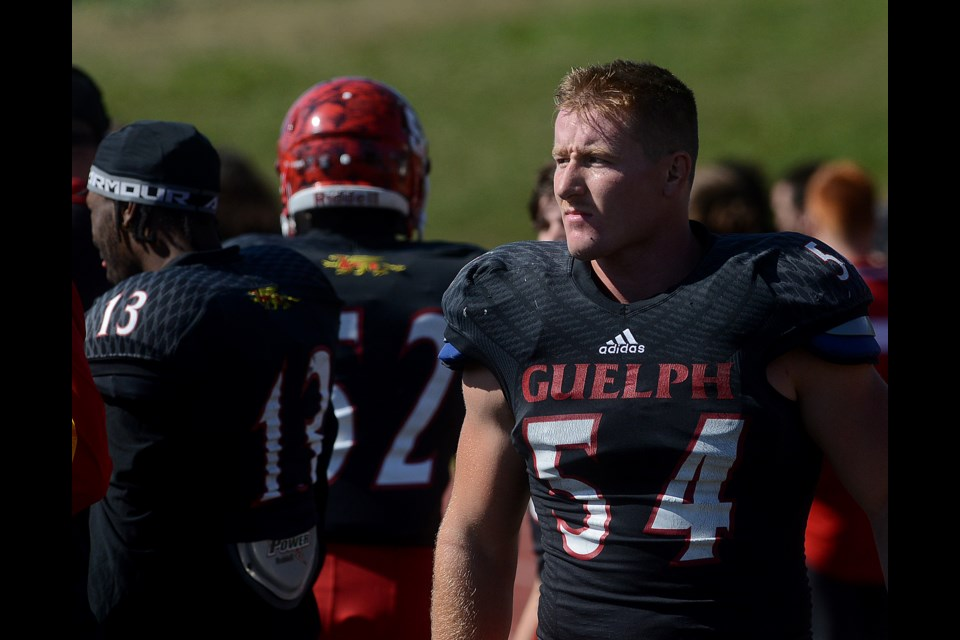Guelph native Job Reinhart has become a valuable multi-purpose member of the Guelph Gryphons. Tony Saxon/GuelphToday