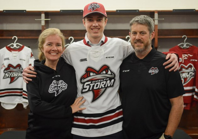 Guelph Storm signs its goalie of the future