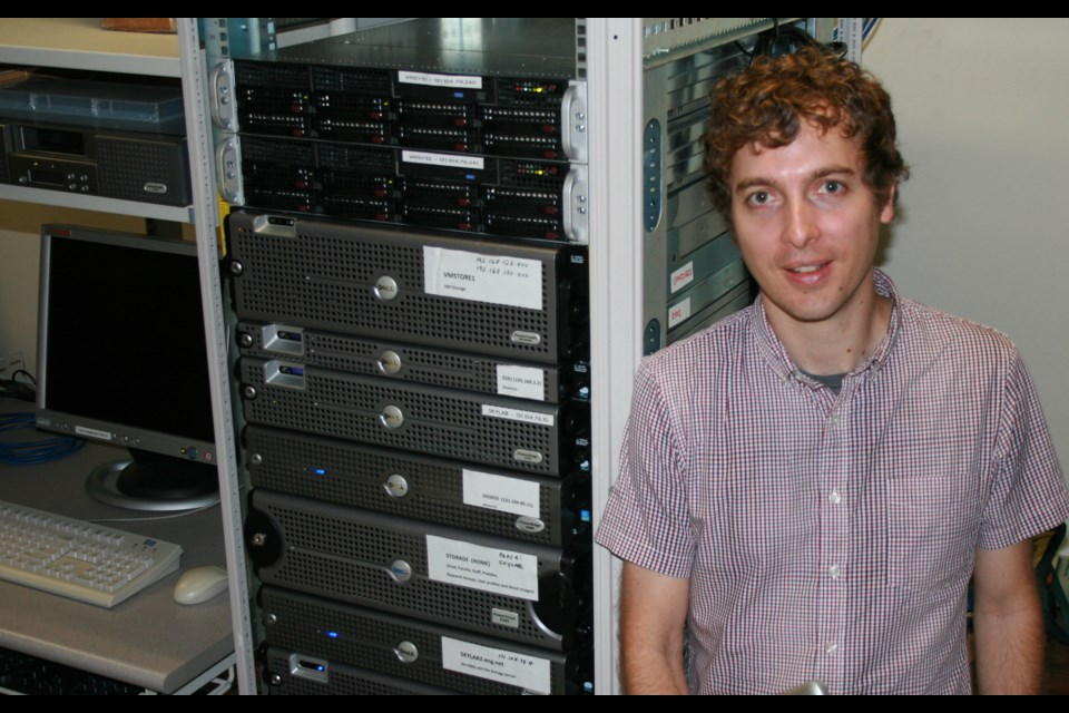 University of Guelph engineering professor Graham Taylor has received a $550,000 in federal research funding to make computer technology see better. (Supplied photo)