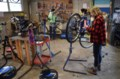 Bike repair shop shares DIY skills with all