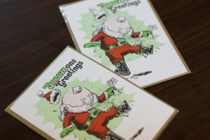 'Sneezons Greetings': a Halifax illustrator's unconventional Christmas cards (4 photos)