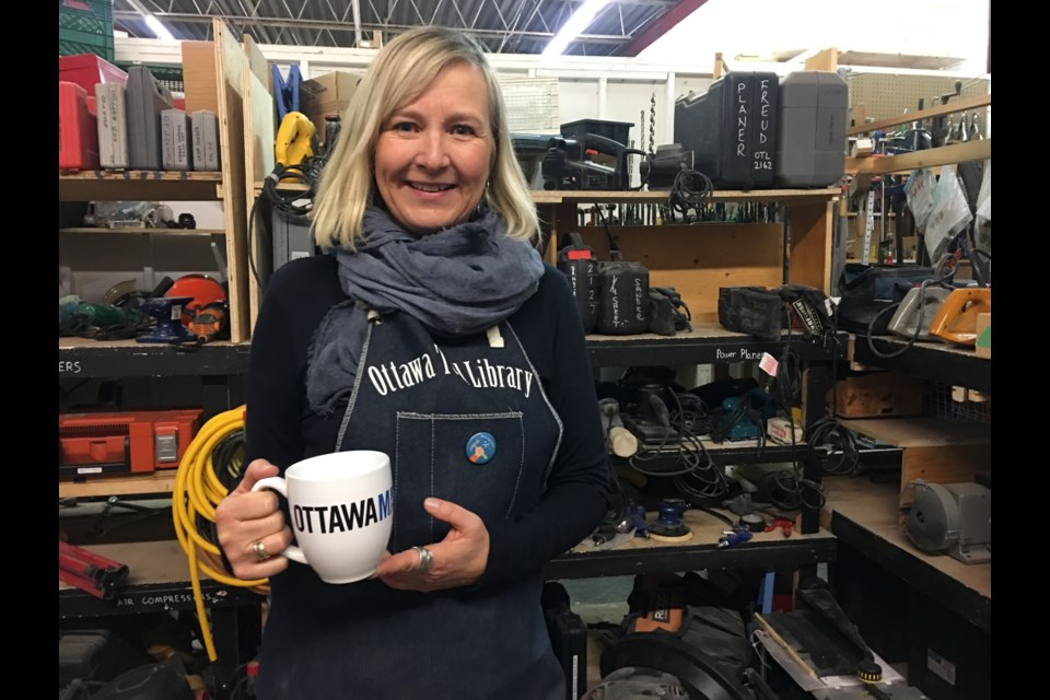 Bettina Vollmerhausen, co-founder of the Ottawa Tool Library