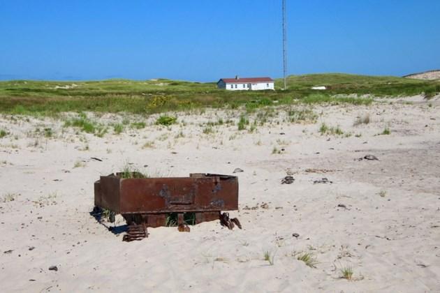sable island debris