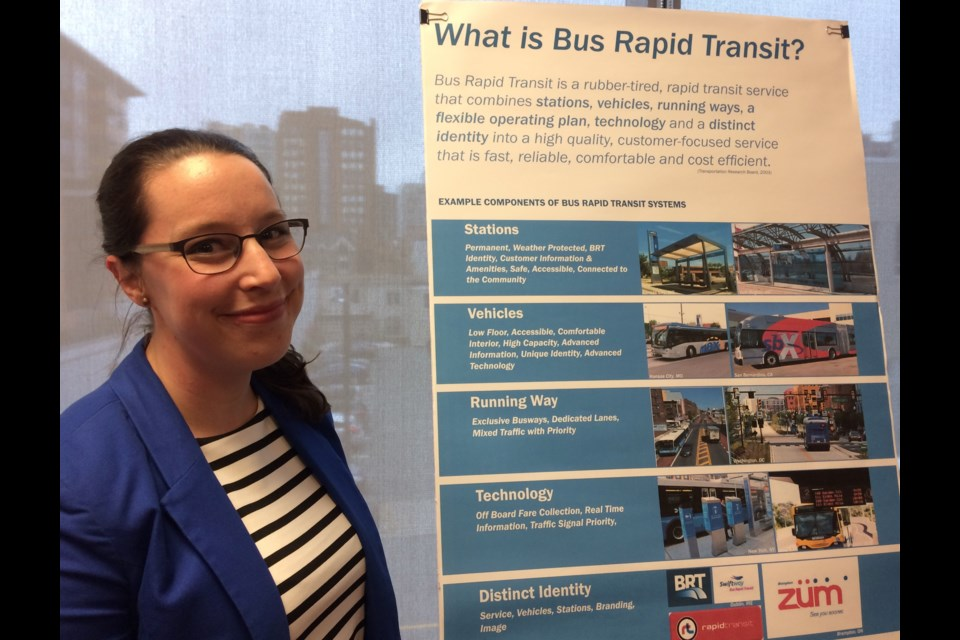 Erin Blay, supervisor of service design and projects at Halifax Transit.