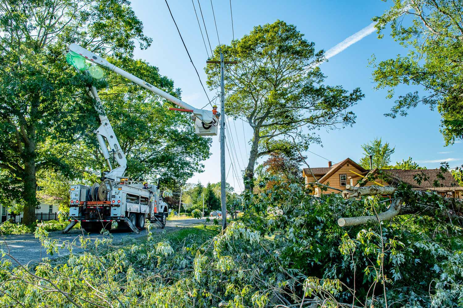 More than 30,000 customers still without power days after Dorian