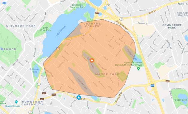 Nova Scotia Power Outage (April 15th, 2019)