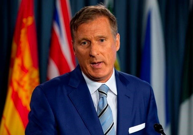 People's Party of Canada leader Maxime Bernier to visit Kamloops