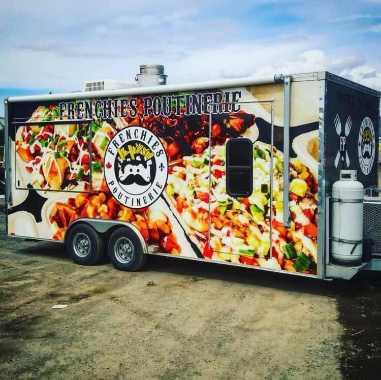 The stolen Frenchies Poutinerie trailer has been found