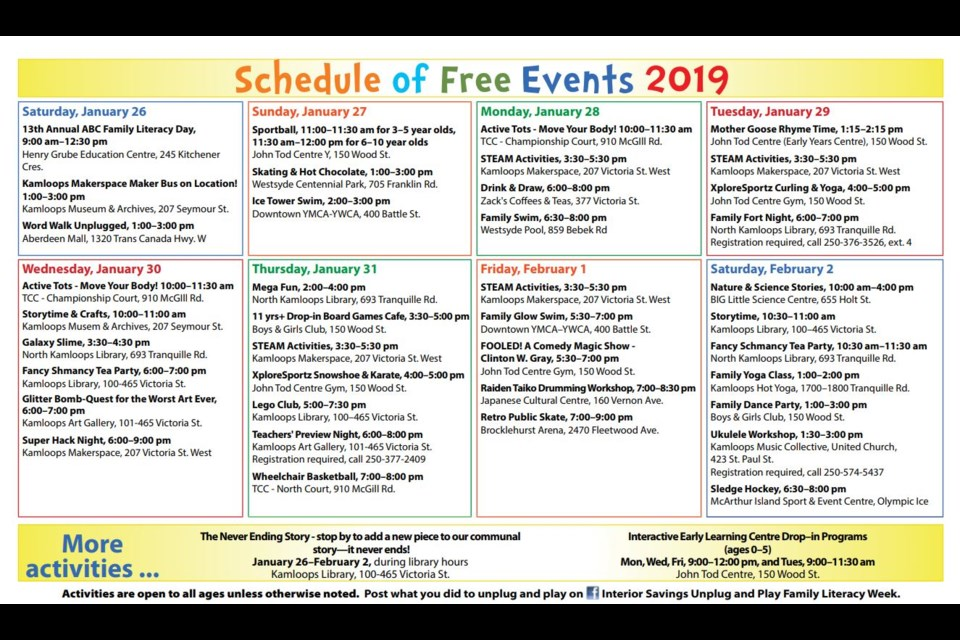 Celebrate Family Literacy Week In Kamloops With These Free And Fun