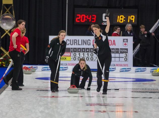 TRU Curling team