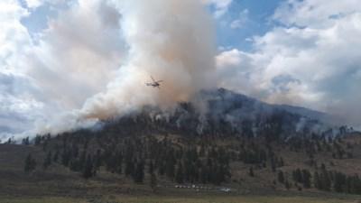 Richter Creek Wildfire