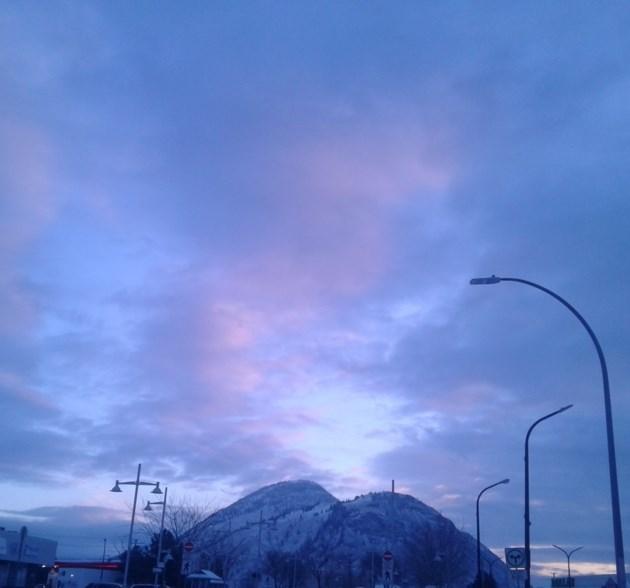 blue kamloops sky
