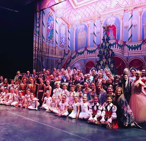 The Nutcracker cast in Kamloops