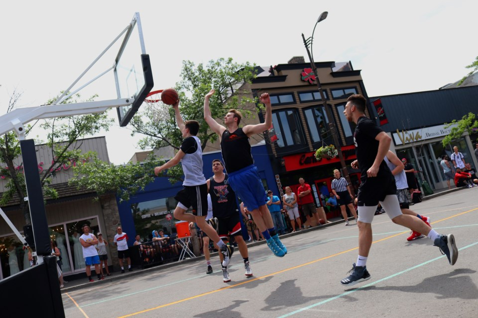 Today was the first day of Kamloops inauguralBank 3 Basketball Tournament. (via Eric Thompson)