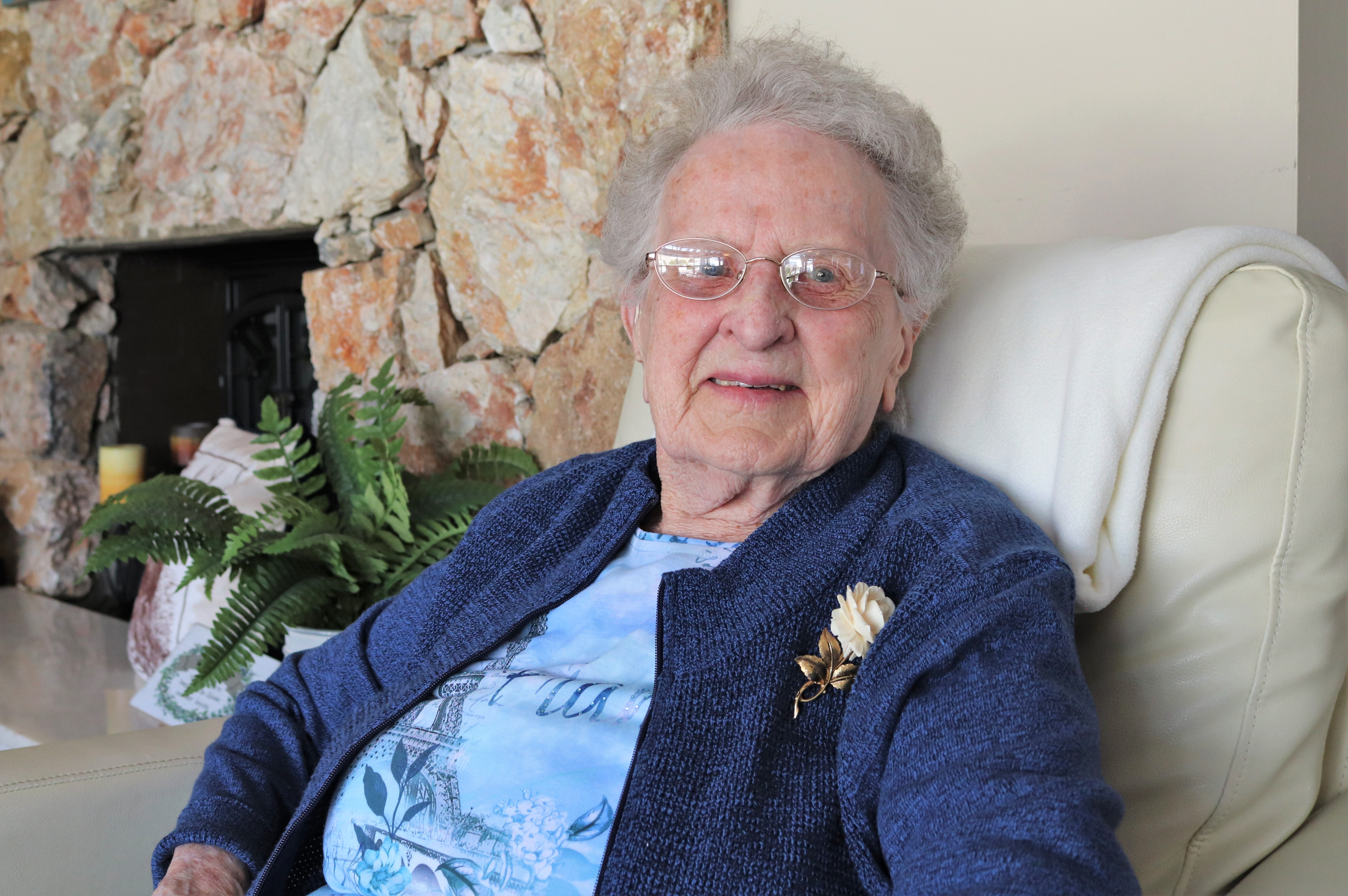 One of Kamloops' oldest residents just turned 104!