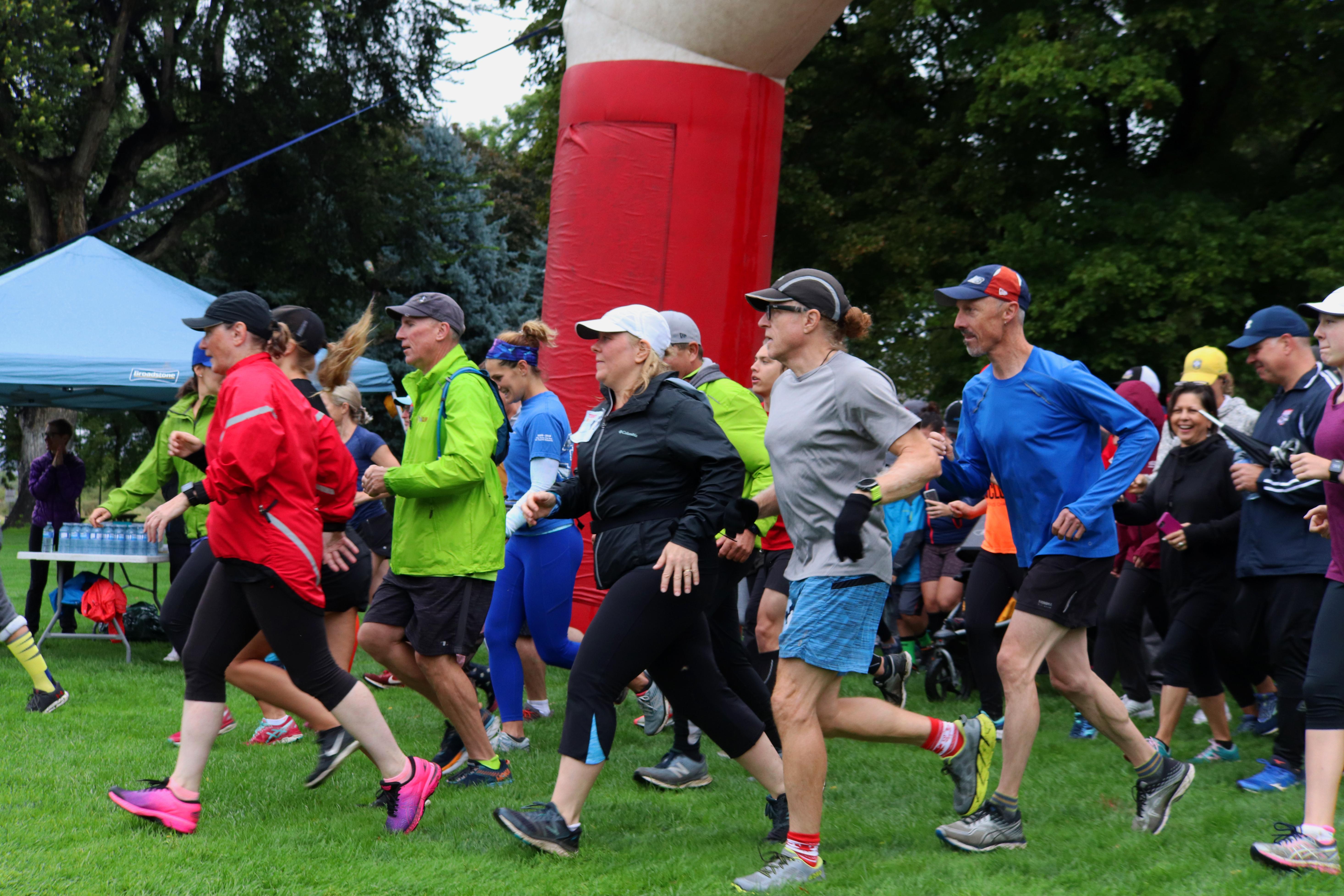 PHOTOS: Rain doesn't dampen spirits at Kamloops Terry Fox Run