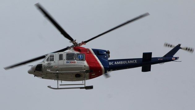 BC Ambulance Copter