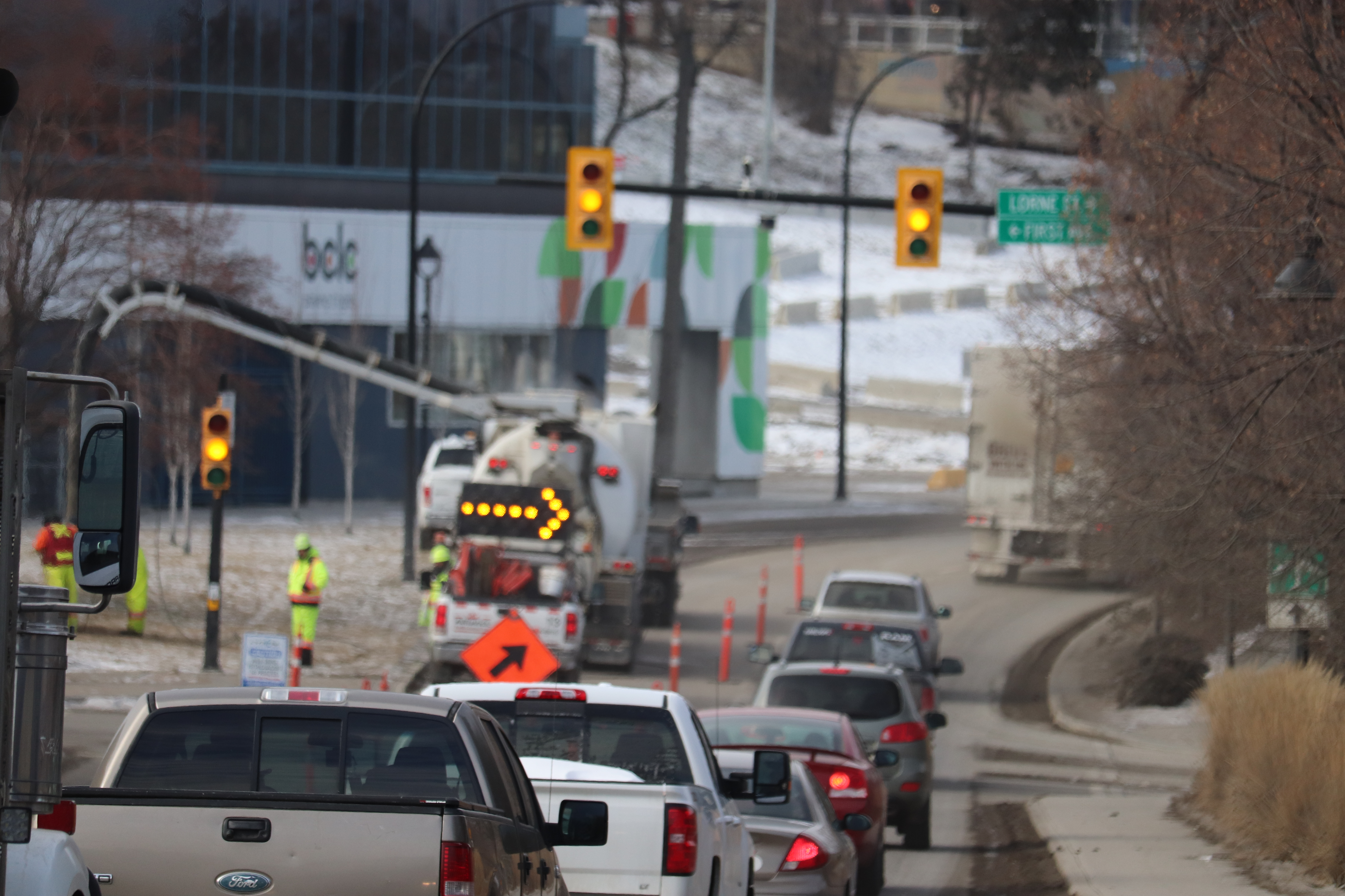 Section of Victoria Street West in downtown Kamloops reopens