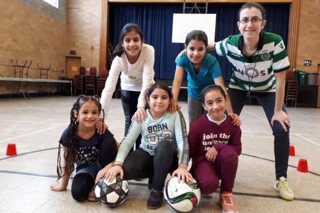 Newcomer girls soccer