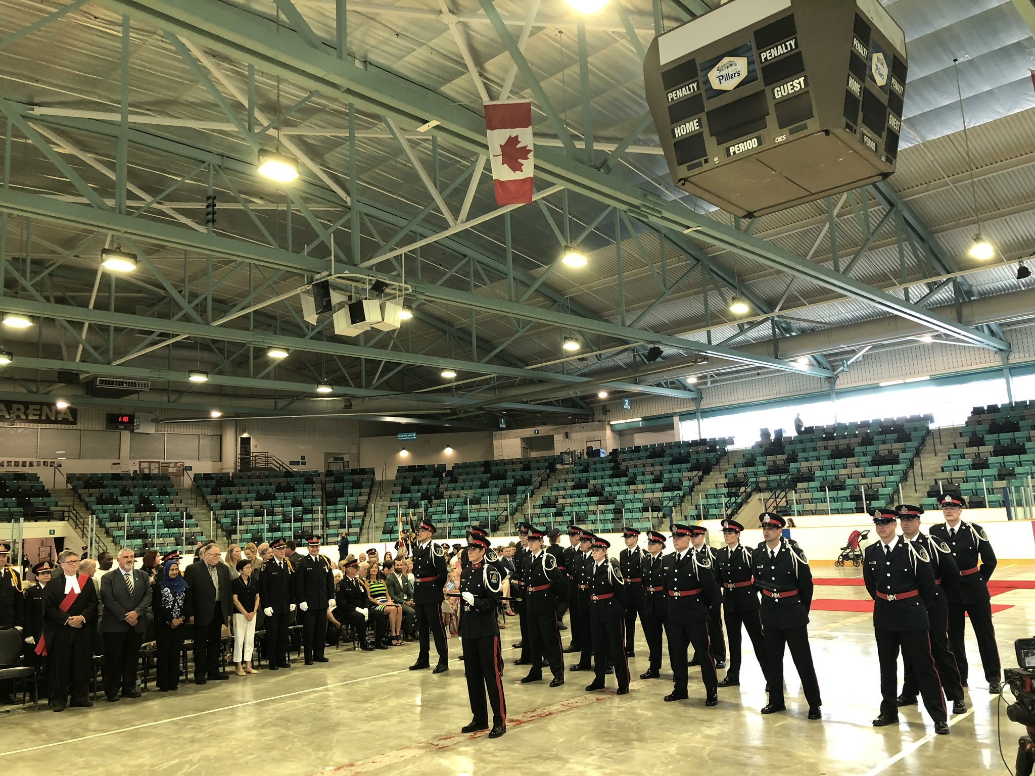 19 new WRPS' officers being sworn in (video)
