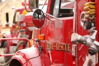 Emergency Crews On Scene Of Fire In Kitchener