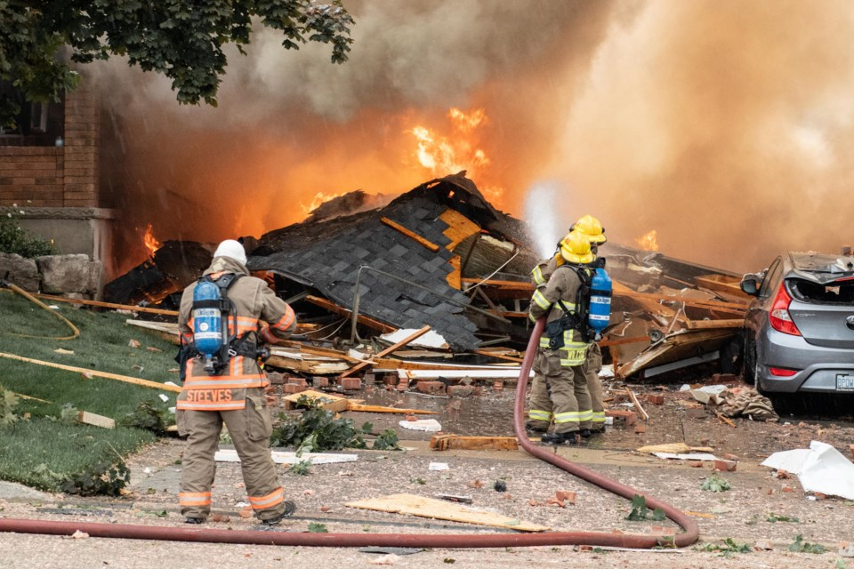 Woman killed, man hurt in Kitchener house explosion (10 photos ...