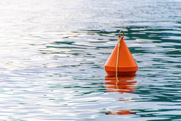 Warning buoys being installed upstream from GRCA dams