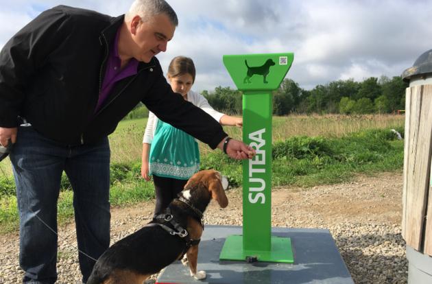 Waterloo dog waste recycling