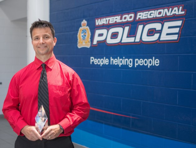 WRPS Investigator wins an award for fraud case