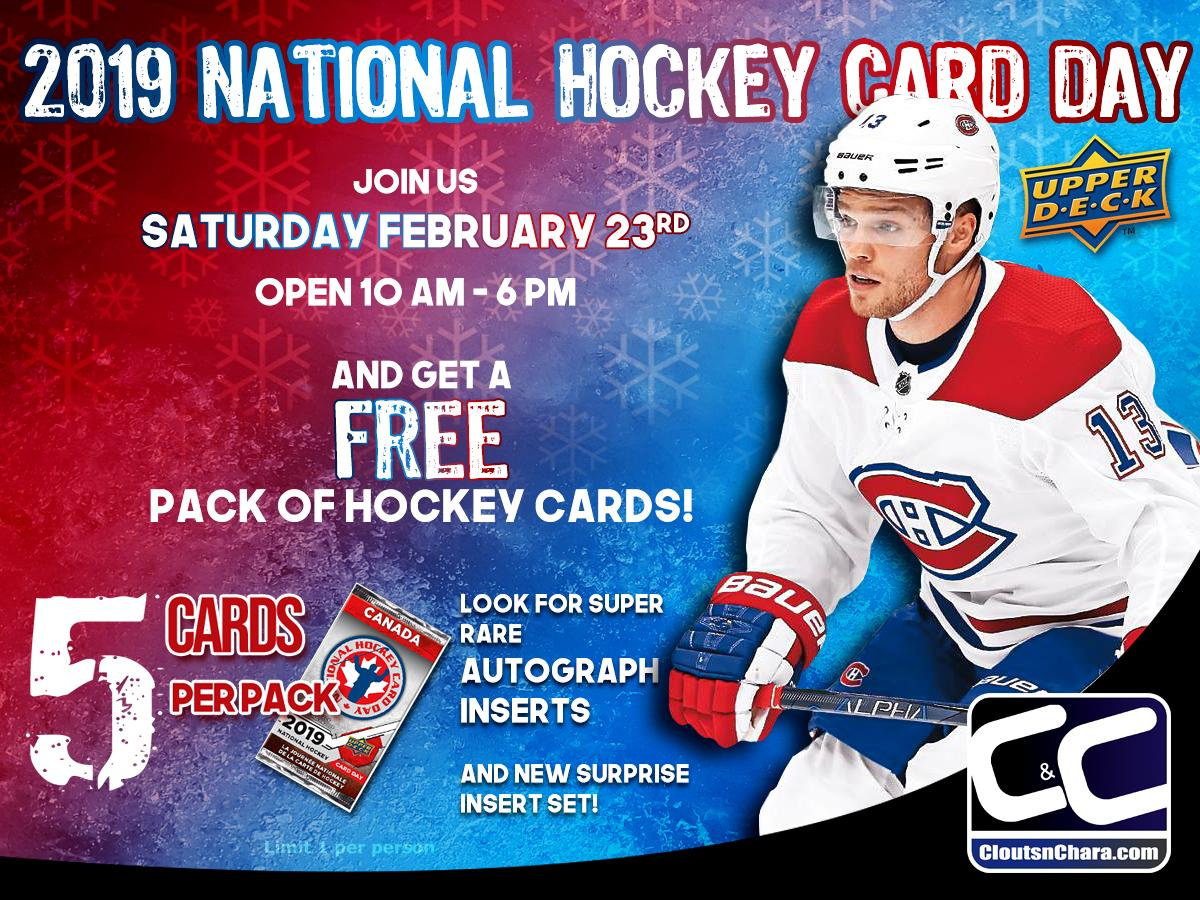 National Hockey Card Day Sweeps Across The Country Kitchenertoday Com