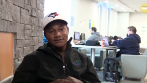 VIDEO: Life in a refugee camp inspires student to make real change