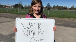 Walk with Dana on May 31