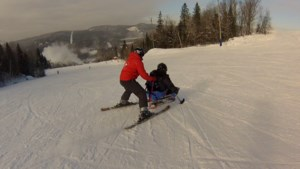 VIDEO: No Limits for these downhill skiers