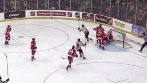 VIDEO: Hounds can't hold on in third against Petes