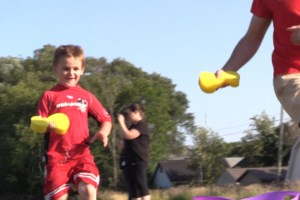 VIDEO: Splashes and smiles