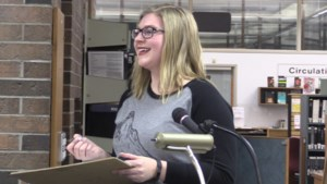 VIDEO: Naughty words heard at the library