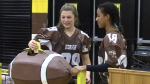 VIDEO: 'It's all fun, and some lucky person is going to the Super Bowl'