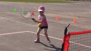 VIDEO: New in the Soo - TGA's tennis camp