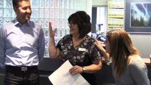 VIDEO: Lorie didn't expect this gift