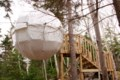 Cocoon tree bed and Franey Mountain connect visitors with nature