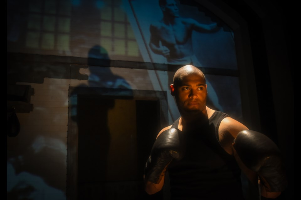 Jacob Sampson's world premiere drama Chasing Champions: The Sam Langford Story won six 2017 Merritt Awards. The play about the legendary African Nova Scotian boxer was named outstanding production, Sampson won lead actor for his turn in the title role and also picked up the award for outstanding play by a Nova Scotian playwright, among other honours. (DAVE RISK)