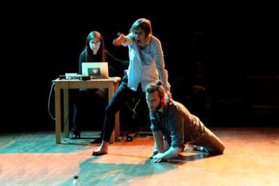 Nistico guiding a live performance