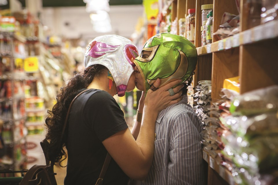 U.S. romantic comedy Signature Move combines the complexities of modern love with the thrill of Mexican wrestling, at the OUTeast Film Festival on Friday, June 16, at the Museum of Natural History.