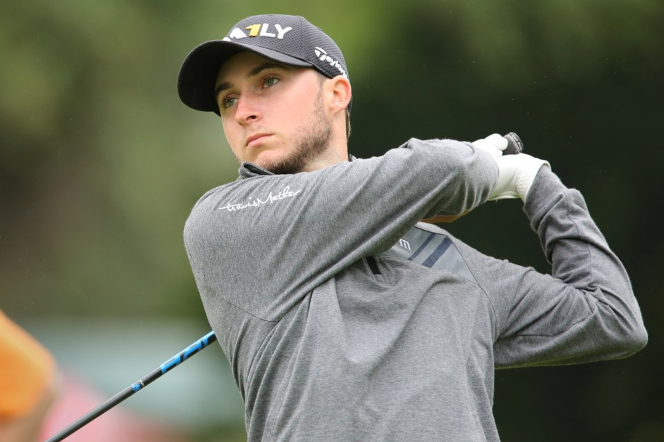 Austin Connelly back on the links at final round of British Open