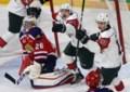 Hischier, Aube power Mooseheads to 6-2 win over Wildcats